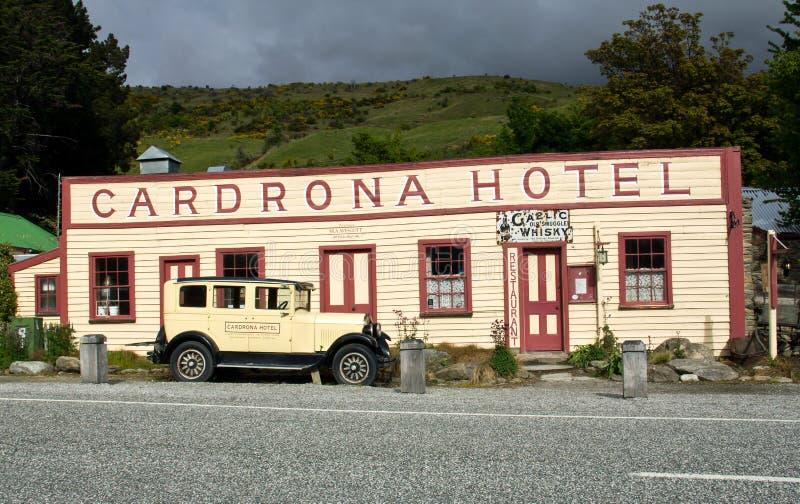 Cardrona hotell royaltyfri fotografi