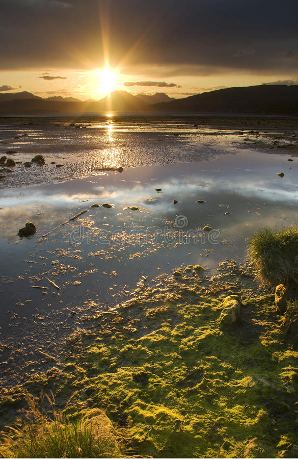 Download Cardross Sunset Royalty Free Stock Image - Image: 11587956