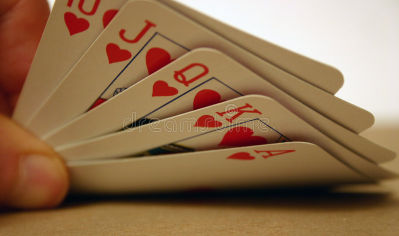 Download Cards stock image. Image of cards, hearts, card, royal, game - 8143