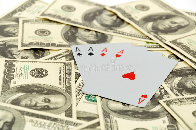 Download Cards On 100 Dollars Stock Photo - Image: 17445870