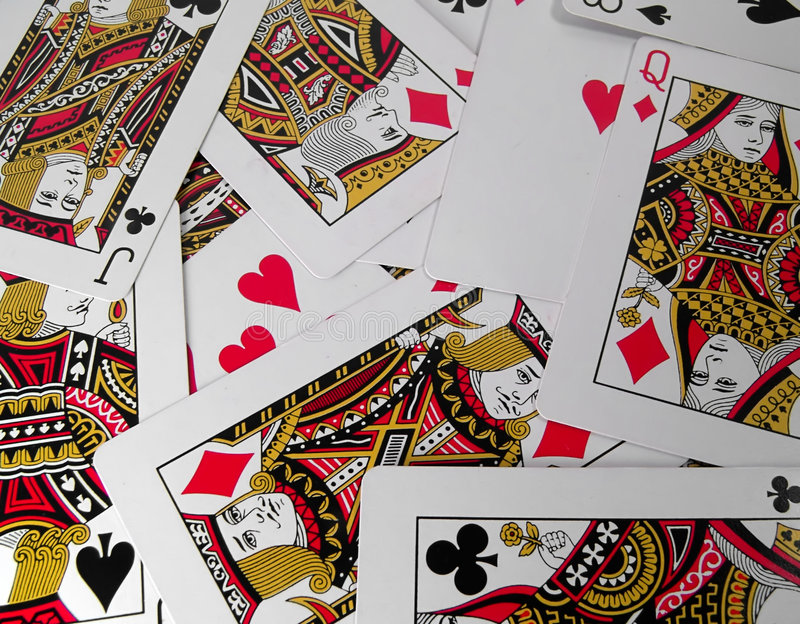 Cards stock photography