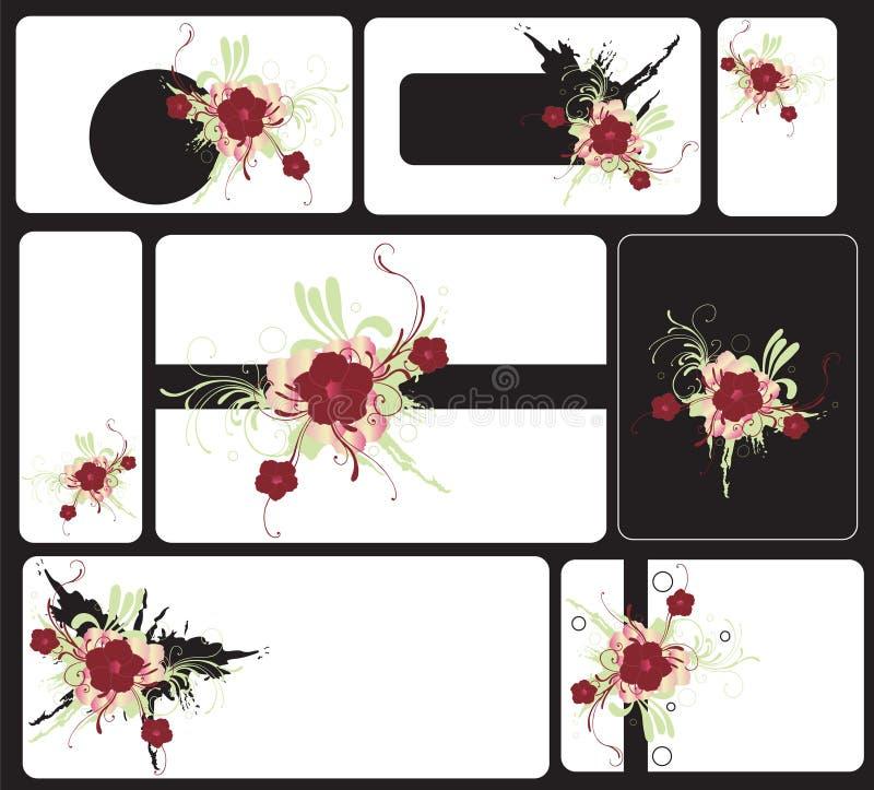 Cards vector illustration