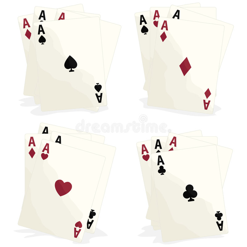 Cards with clipping path. Illustration with clipping path vector illustration