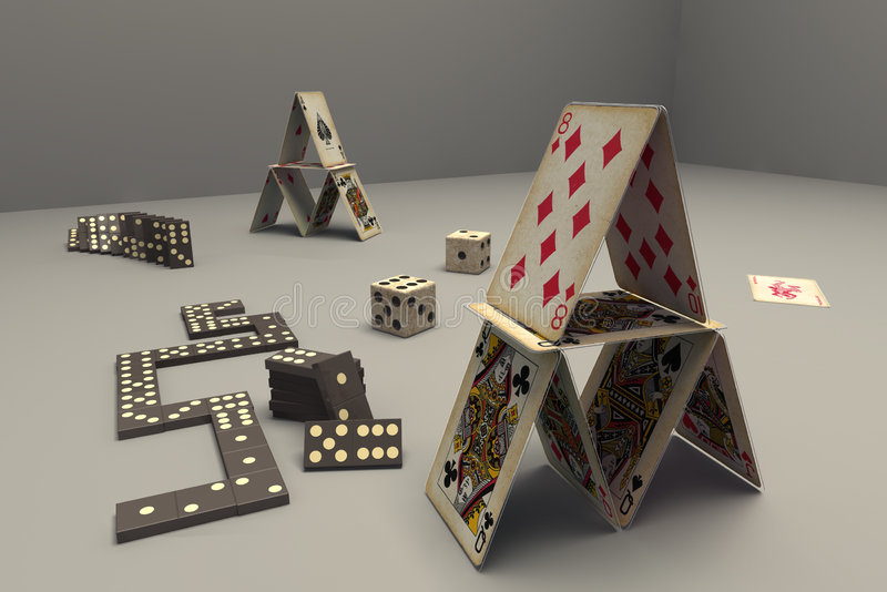 Download Cards,domino,games Stock Photos - Image: 4282413