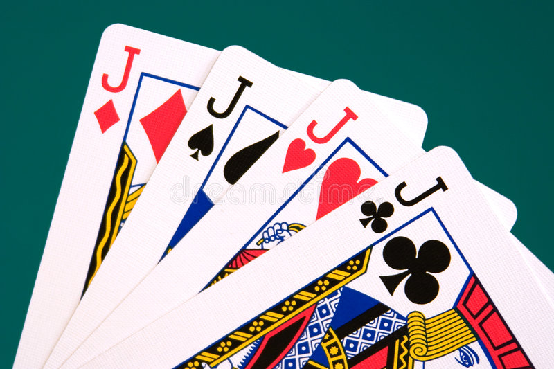 Download Cards four cards 04 jacks stock photo. Image of gambler - 355620