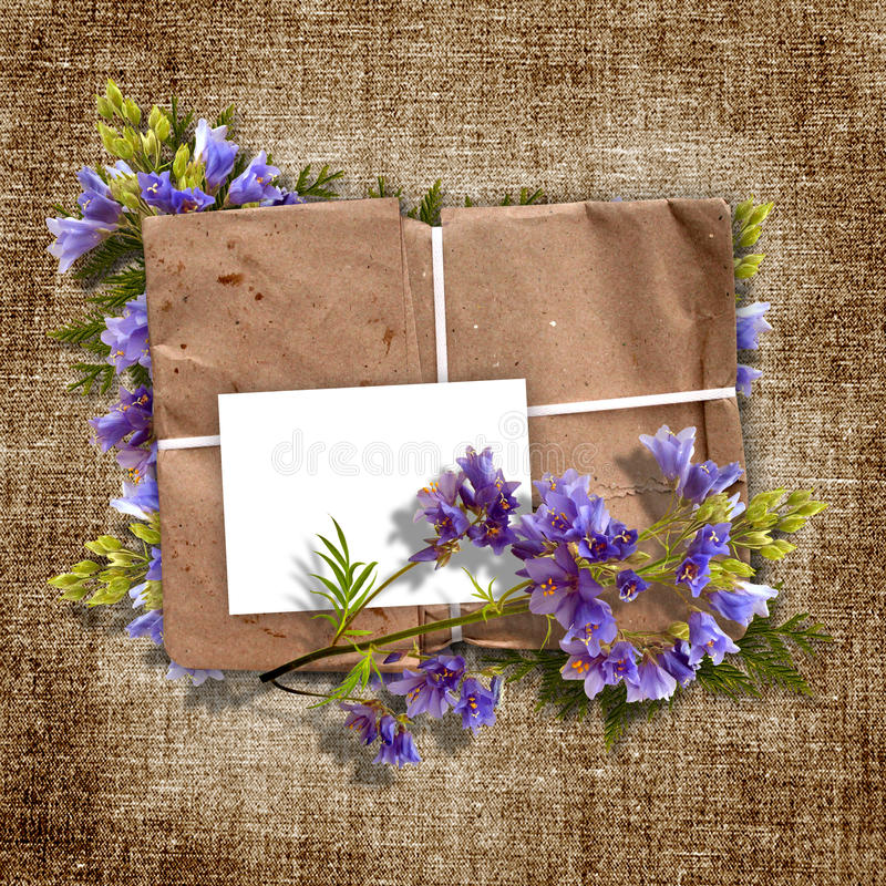 Cards for greeting or invitation royalty free illustration