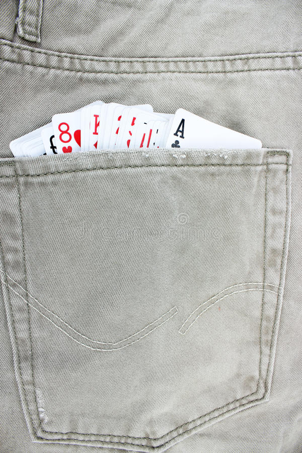 Download Cards in jeans pocket stock photo. Image of up, closeup - 30949404