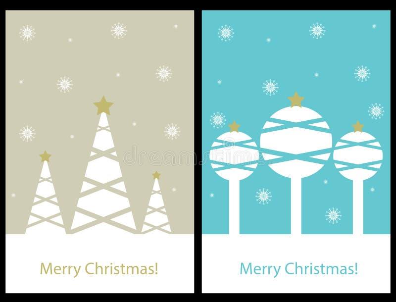 cards jul som tecknar modellera plasticine vektor illustrationer