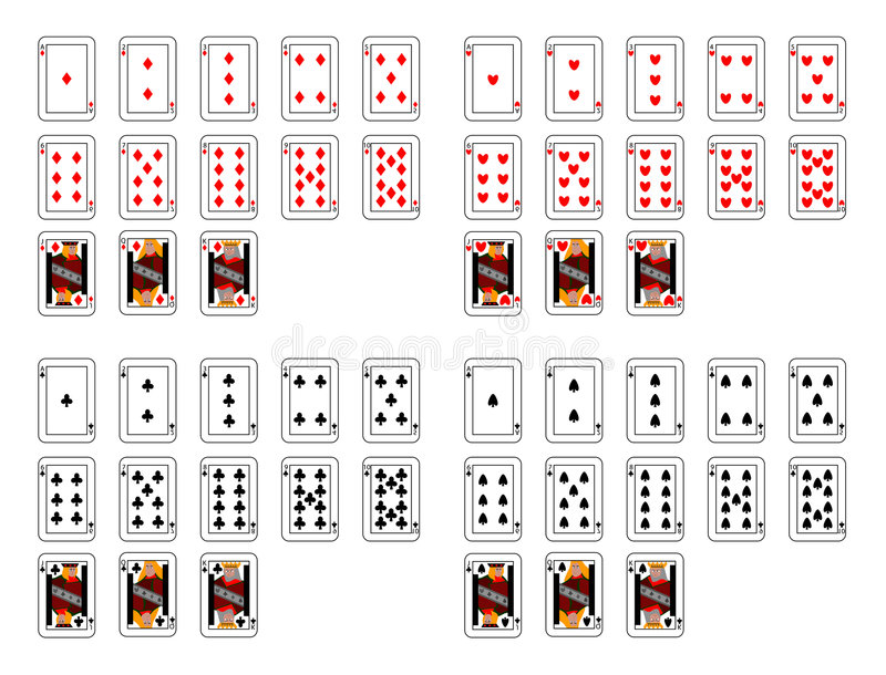 cards poker royaltyfri foto