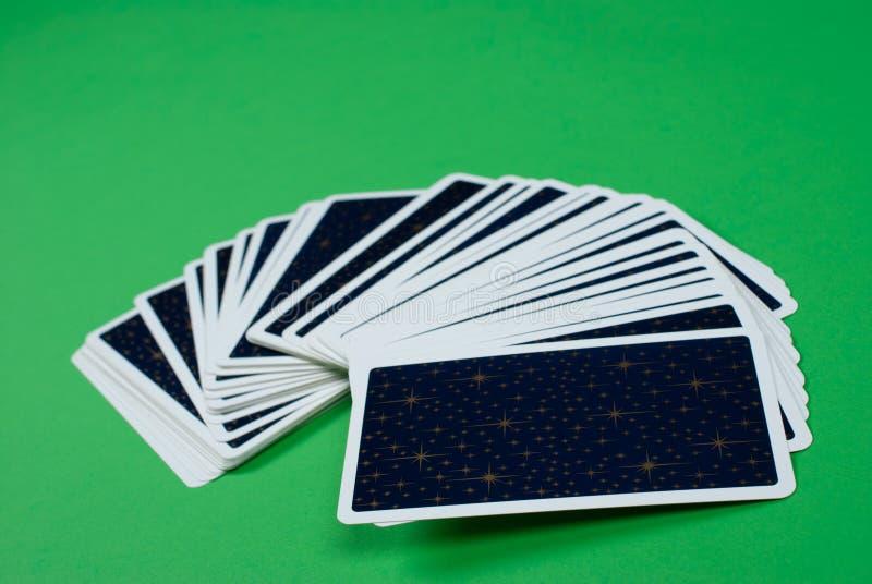 cards tarot arkivbild