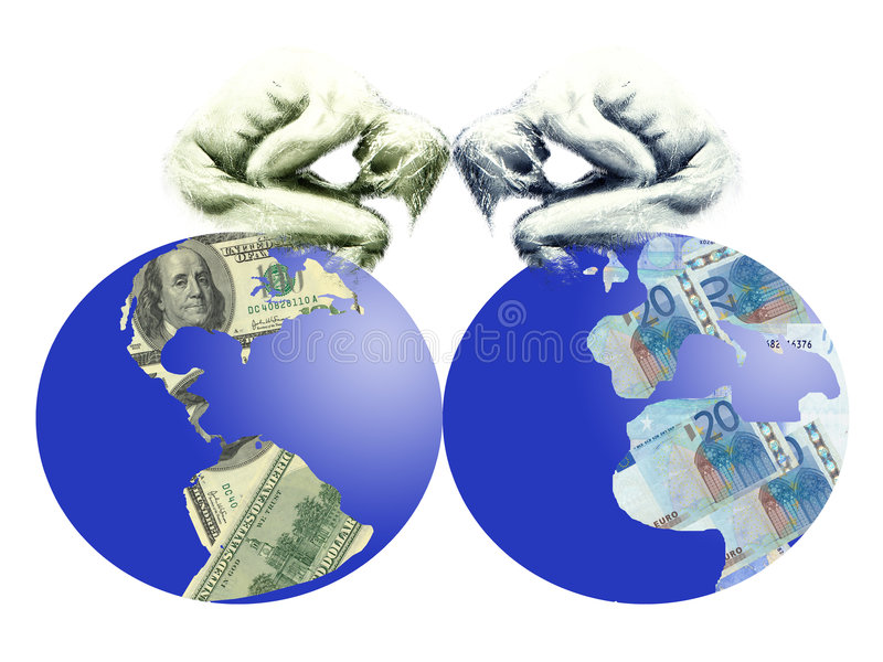 Download Care of Business people stock illustration. Illustration of continent - 593252