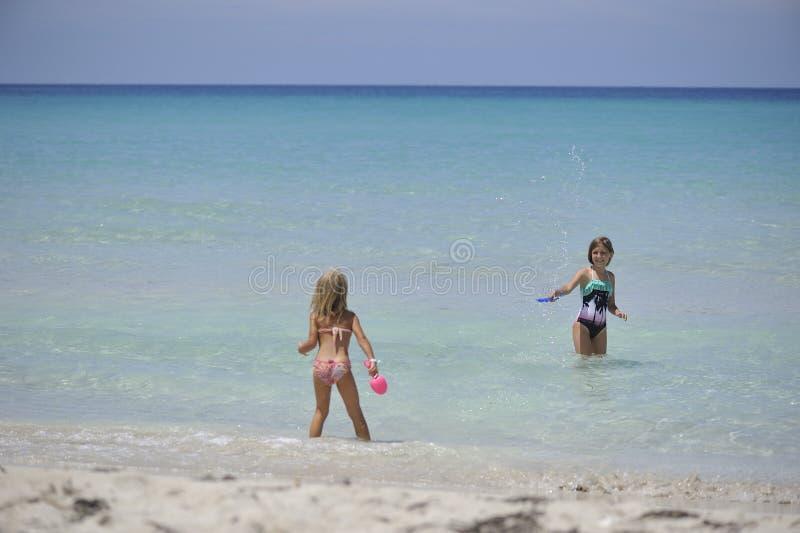 Carebbean-Meer, Kuba, Varadero stockfoto