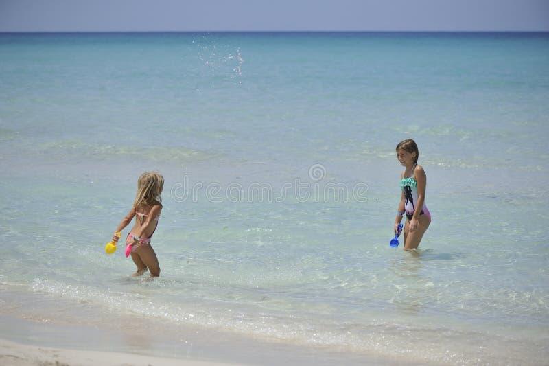 Carebbean-Meer, Kuba, Varadero stockbild