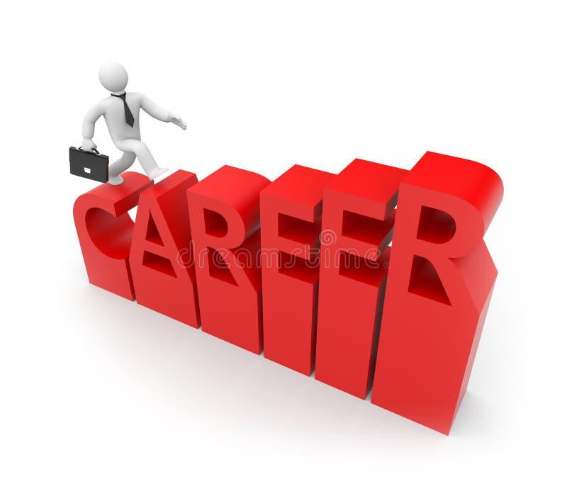 Download Career stock illustration. Illustration of render, business - 16613506