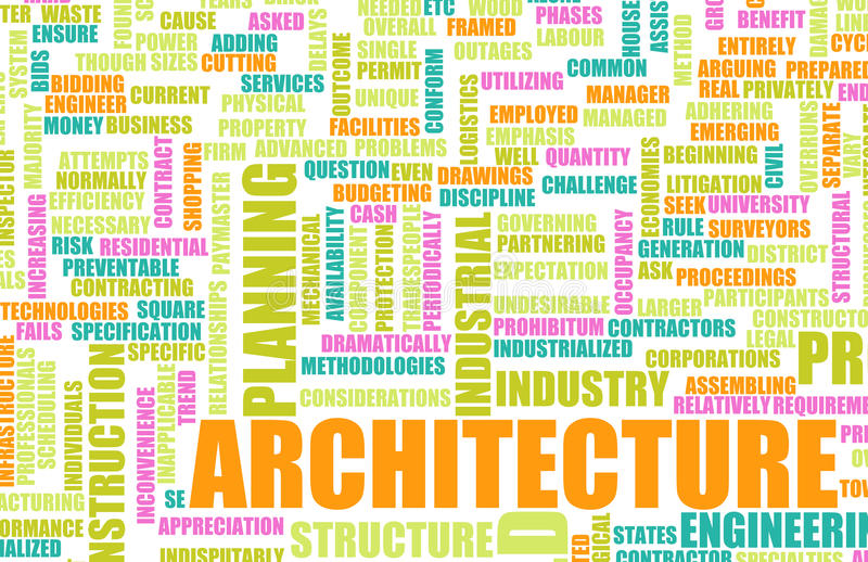 Career In Architecture Royalty Free Stock Photography