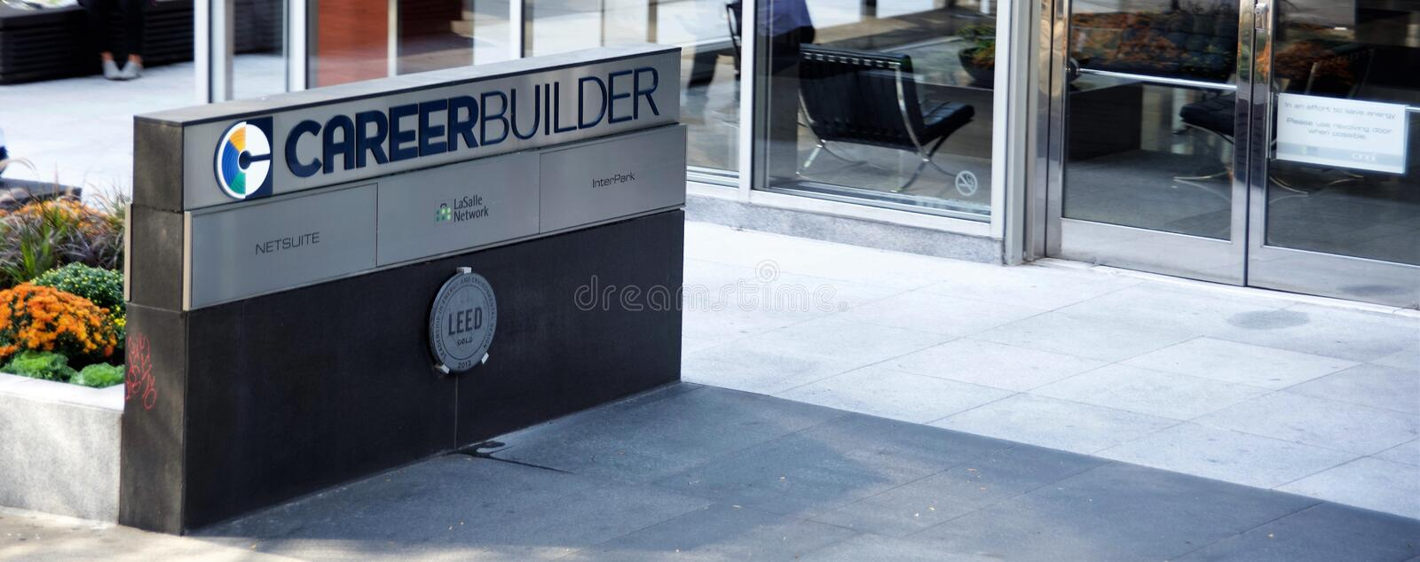 Career Builder Employment Website royalty free stock photo