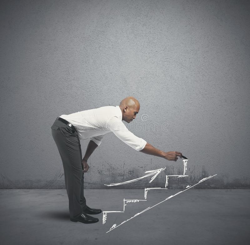 Career and business opportunity stock photo