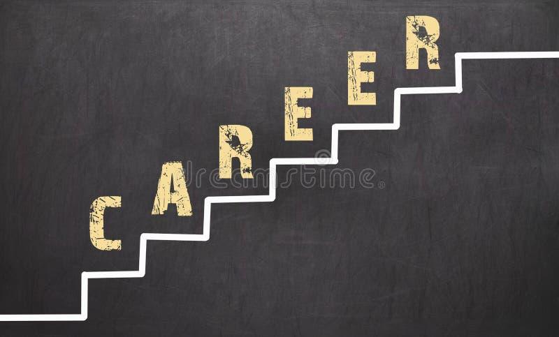 Download Career Concept On Black Chalkboard Stock Photo - Image: 83703652