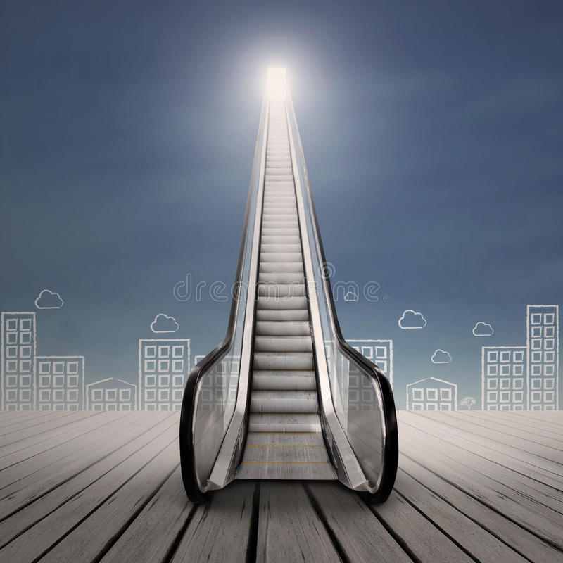 Download Career Escalator Royalty Free Stock Photography - Image: 33540237