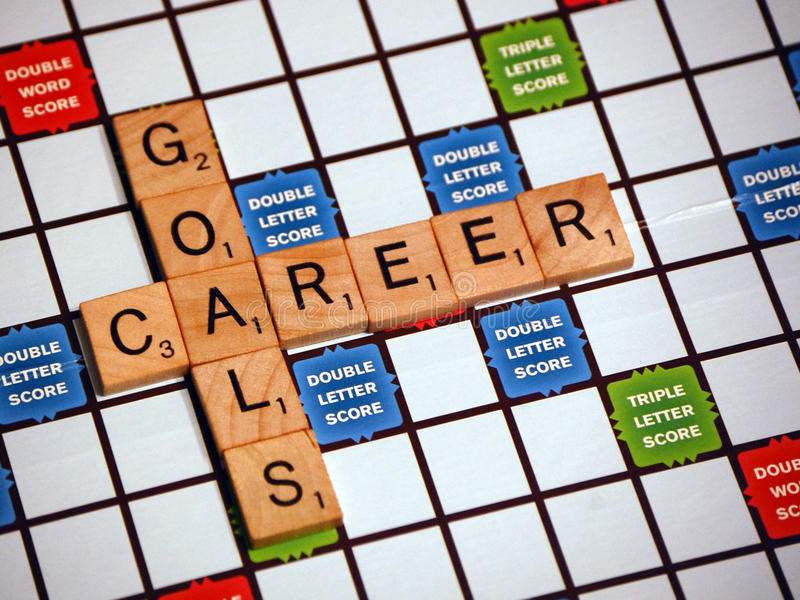 Career Goals royalty free stock images