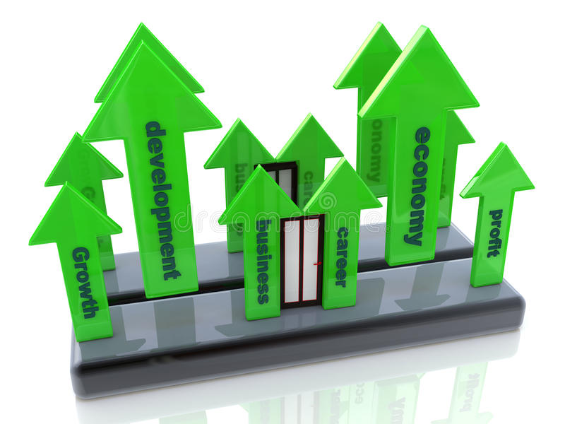 Download Career growth stock illustration. Image of improve, career - 33808283