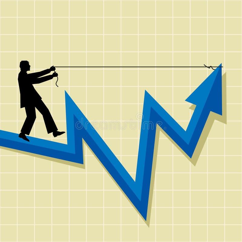 Career In Hand Stock Photo