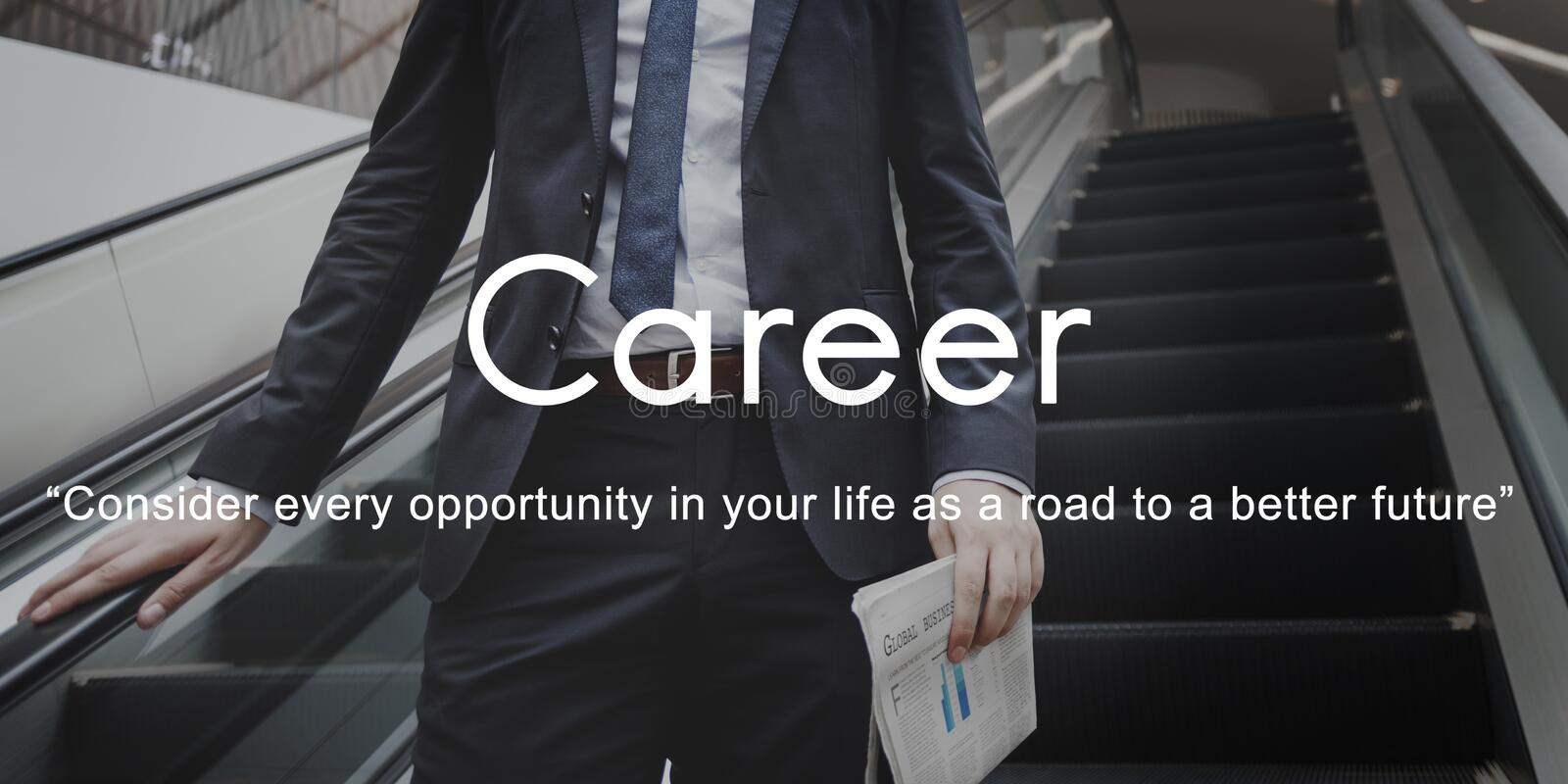 Career Hiring Human Resources Job Occupation Concept royalty free stock images