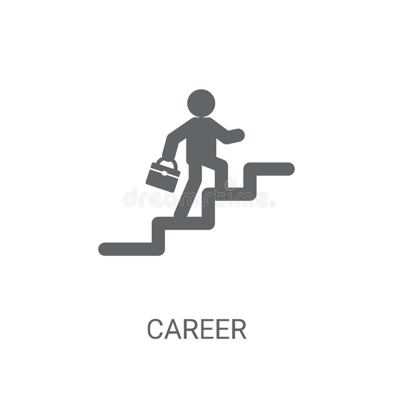 Career icon. Trendy Career logo concept on white background from vector illustration