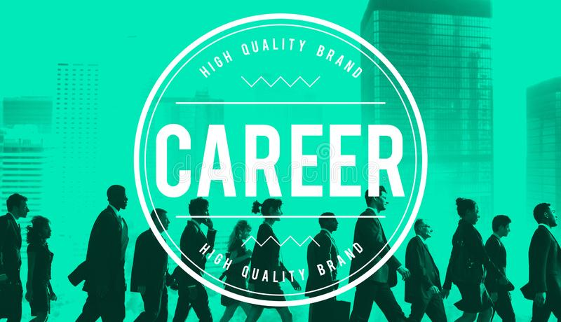 Career Job Occupation Expertise Employment Concept royalty free stock photography