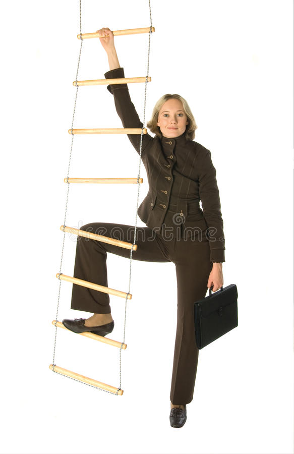 Career ladder royalty free stock image