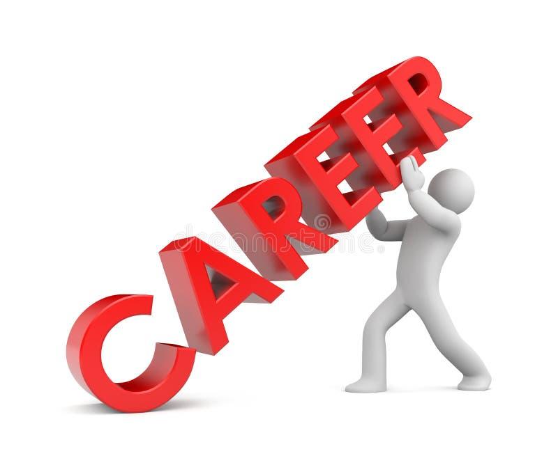 Download Career. Ladder to success stock illustration. Illustration of leadership - 23755809