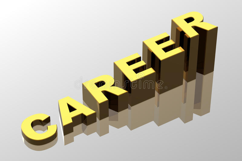 Download Career Opportunities stock illustration. Image of forward - 13357596