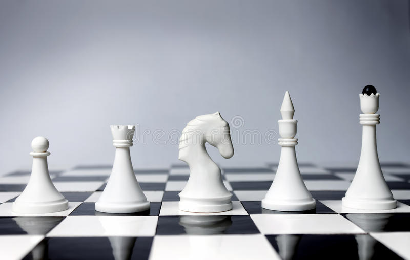 Career Opportunities in chess stock image