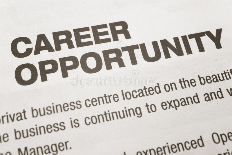 Download Career Opportunity stock photo. Image of hire, opportunity - 4679920