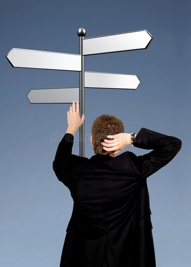 Download Career Paths - Business Choice Stock Image - Image: 839905