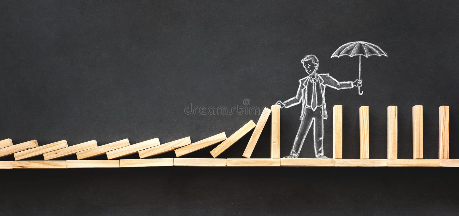Career Planning and Business Challenge Concept royalty free stock photography