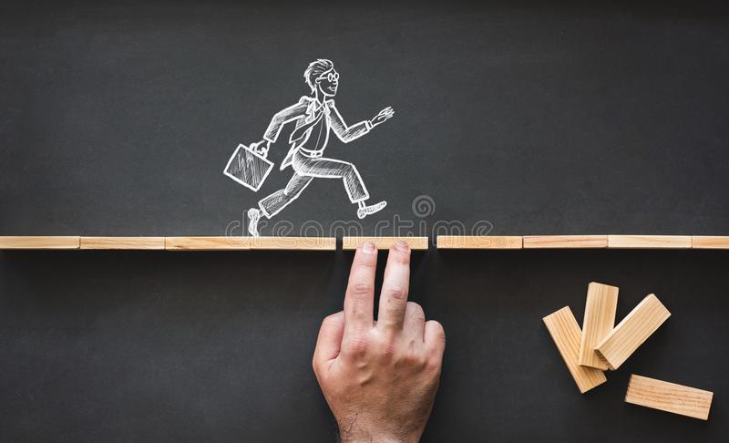 Career Planning and Business Challenge Concept stock images