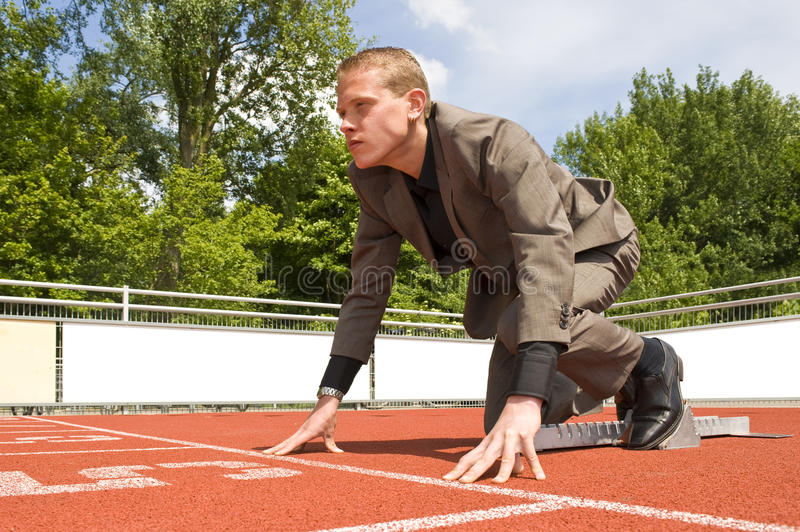 Download Career start stock photo. Image of determined, ready, sports - 9692804