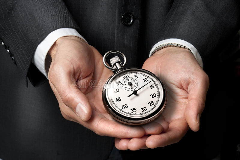 Career Time Business Clock stock photography