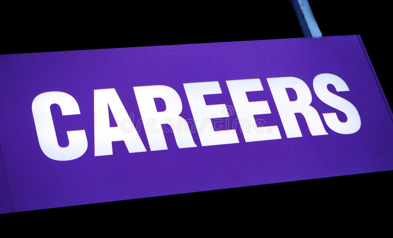 Download Careers stock image. Image of indicate, black, centre - 13383311