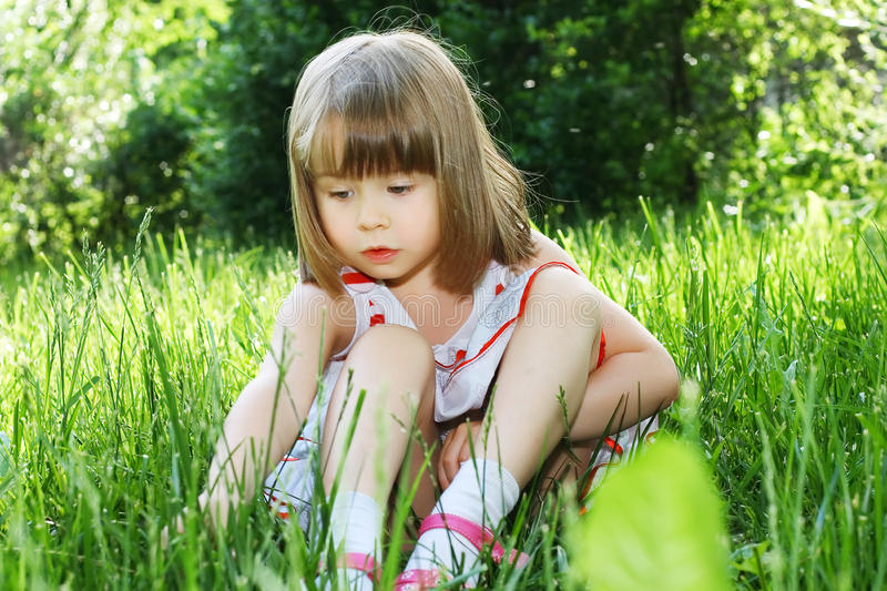 Download Carefree childhood stock photo. Image of blonde, innocent - 14820406