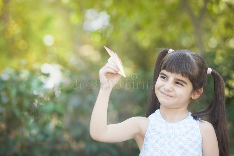 Carefree childhood concept royalty free stock images