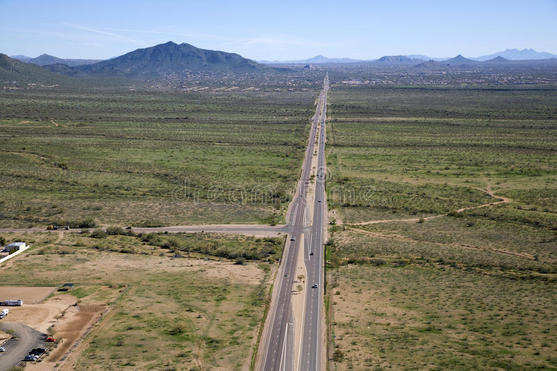 Download Carefree Highway stock image. Image of peaks, scottsdale - 27919327