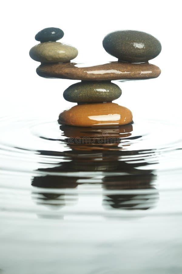 Download Carefully balanced stones stock photo. Image of peaceful - 38968900
