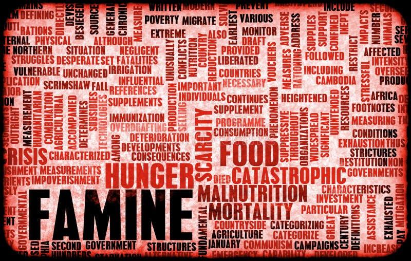 Carestia illustrazione di stock