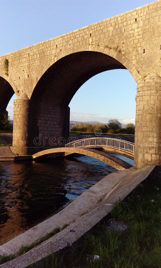 Carev most. Is the historical bridge located in Niksic, state of Montrnegro stock photography