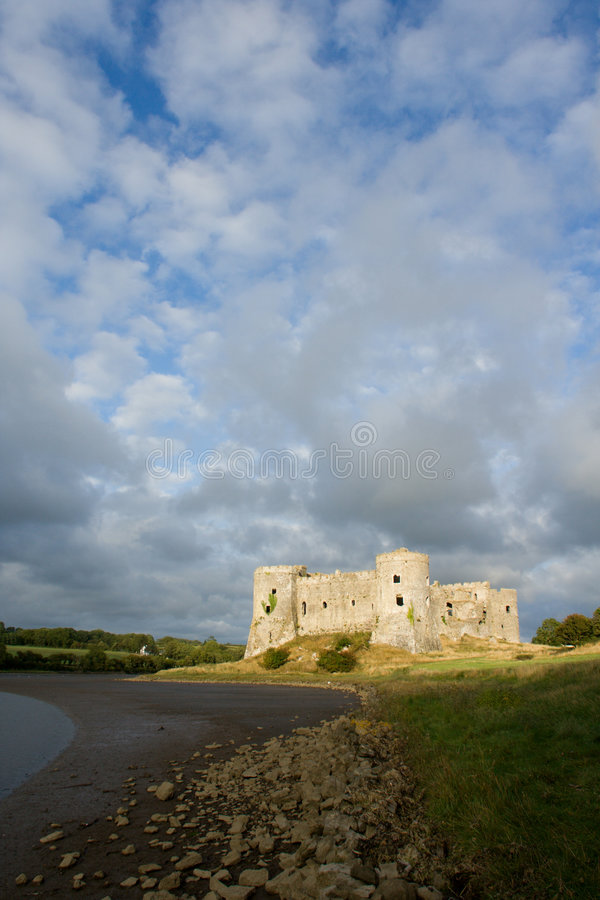 Download Carew Castle Royalty Free Stock Photography - Image: 1404147