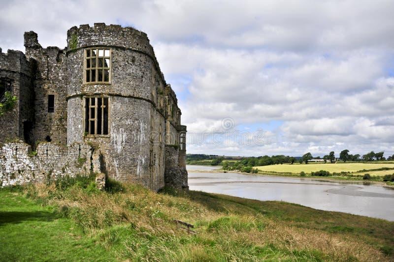 Carew Castle royalty free stock photo
