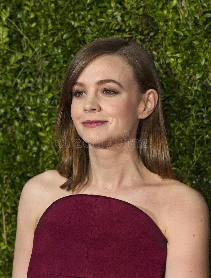 Carey Mulligan chez Tony Awards 2015 photographie stock libre de droits