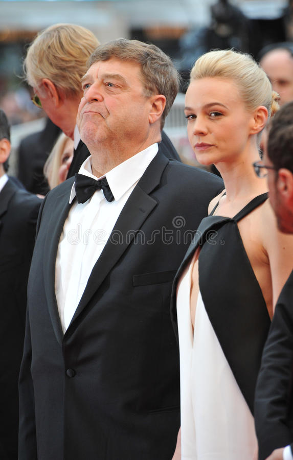 Carey Mulligan et John Goodman images stock